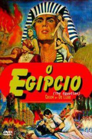 Capa do filme: O Egípcio