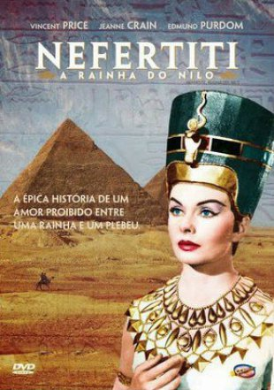 Capa do filme: Nefertiti, a Rainha do Nilo