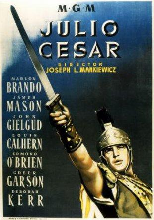 Capa do filme: Júlio César