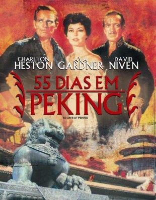 Capa do filme: 55 Dias em Pequim