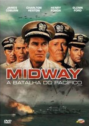 Capa do filme: Midway - A batalha do Pacífico