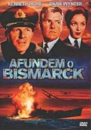 Capa do filme: Afundem o Bismarck