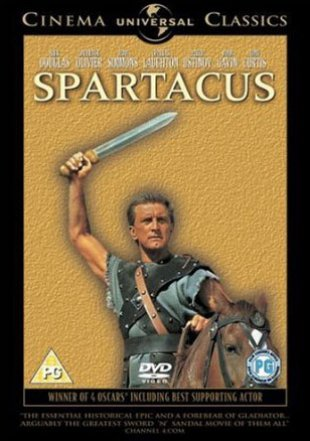 Capa do filme: Spartacus