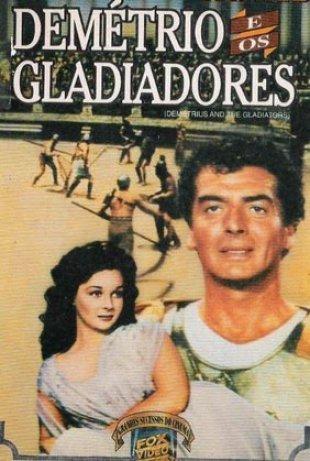 Capa do filme: Demétrio e os gladiadores