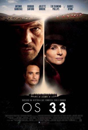Capa do filme: Os 33