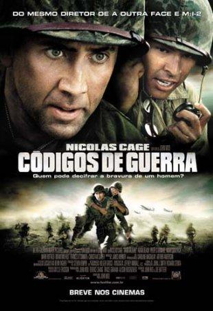 Capa do filme: Códigos de Guerra