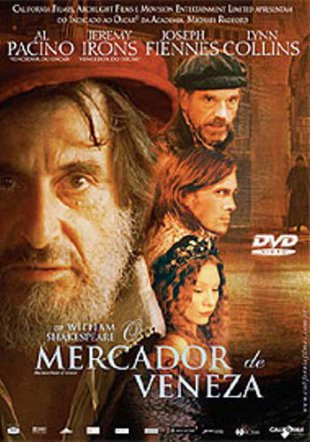 Capa do filme: O Mercador de Veneza
