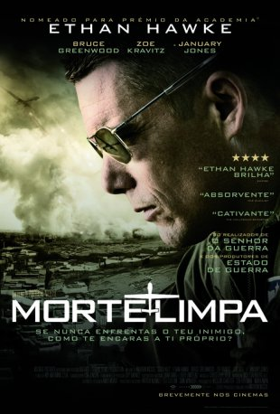 Capa do filme: Morte Limpa