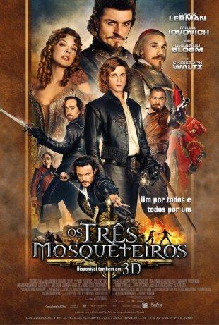 Capa do filme: Os Três Mosqueteiros
