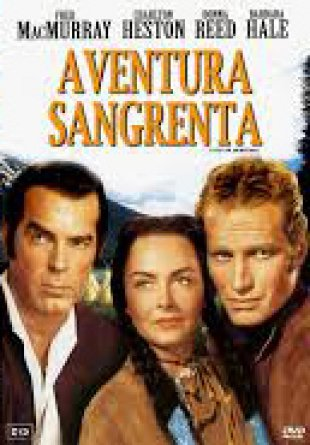 Capa do filme: Aventura Sangrenta