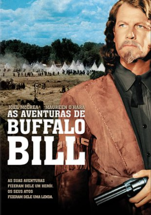 Capa do filme: As Aventuras de Búfalo Bill