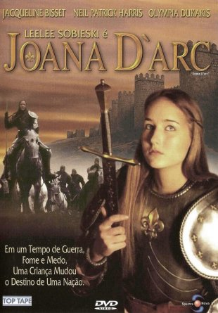 Capa do filme: Joana D'arc - minisérie