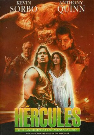 Capa do filme: Hércules E o Labirinto do Minotauro