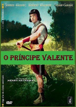Capa do filme: O Príncipe Valente
