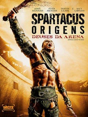 Capa do filme: Spartacus: Deuses da Arena