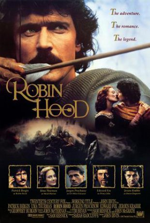 Capa do filme: Robin Hood - O Herói dos Ladrões