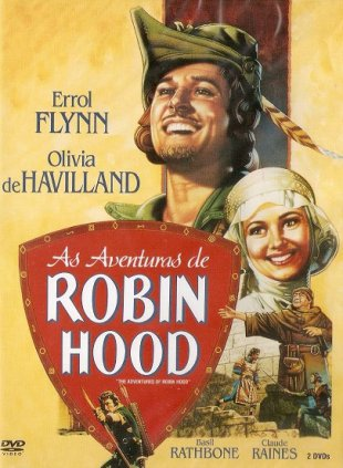 Capa do filme: As Aventuras de Robin Hood