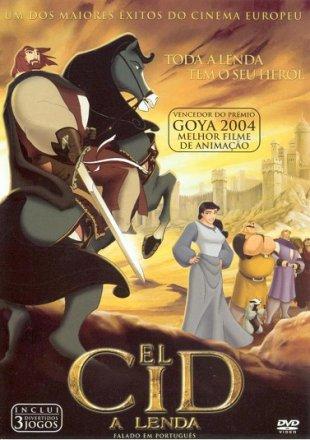 Capa do filme: El Cid: A Lenda