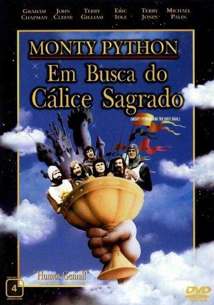 Capa do filme: Monty Python em Busca do Cálice Sagrado