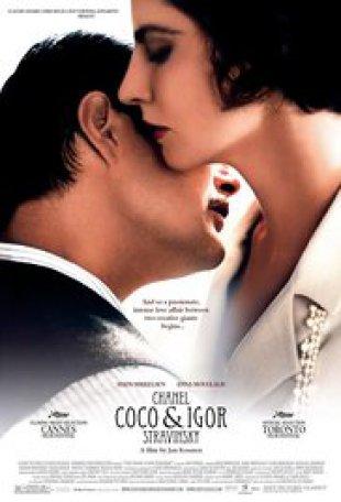 Capa do filme: Coco Chanel e Igor Stravinsky
