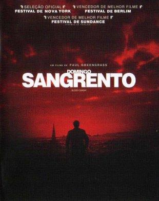 Capa do filme: Domingo Sangrento