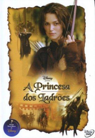 Capa do filme: A Princesa dos Ladrões