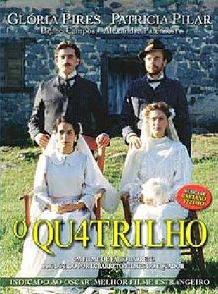 Capa do filme: O Quatrilho