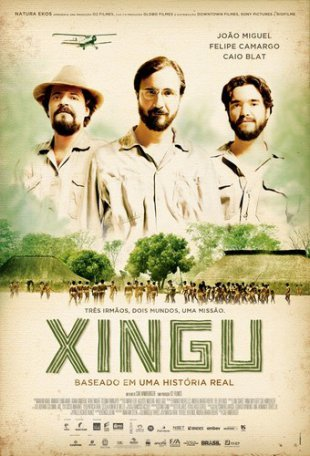 Capa do filme: Xingu