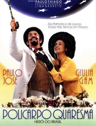 Capa do filme: Policarpo Quaresma, Herói do Brasil