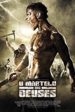 Capa do filme: O Martelo dos deuses