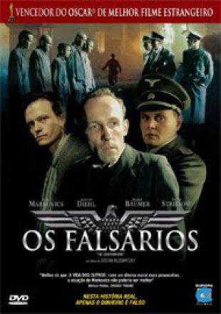 Capa do filme: Os Falsários
