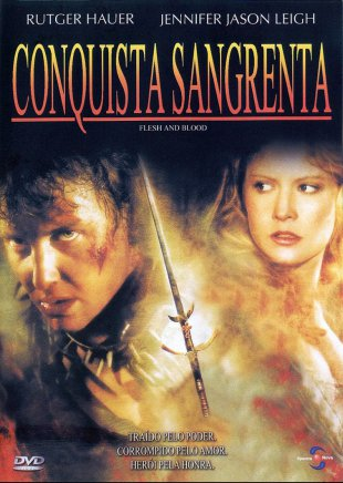 Capa do filme: Conquista sangrenta