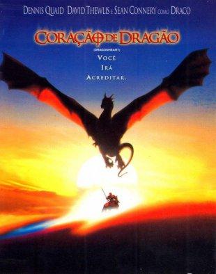 Capa do filme: Coração de Dragão