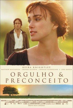 Capa do filme: Orgulho & Preconceito