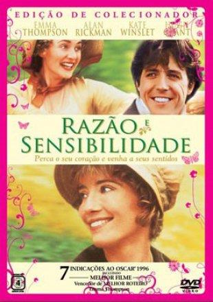 Capa do filme: Razão e Sensibilidade