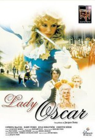 Capa do filme: Lady Oscar