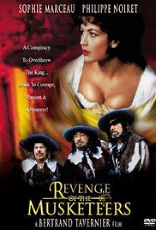 Capa do filme: A Filha de D'Artagnan