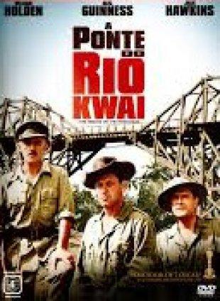 Capa do filme: A Ponte do Rio Kwai