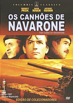 Capa do filme: Os Canhões de Navarone