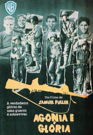 Capa do filme: Agonia e Glória