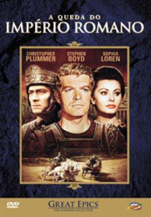 Capa do filme: A queda do Império Romano
