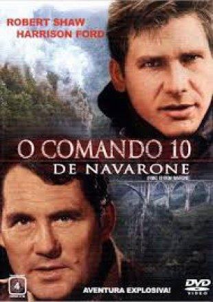 Capa do filme: O Comando 10 de Navarone