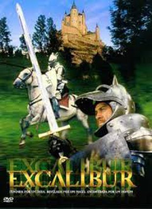 Capa do filme: Excalibur