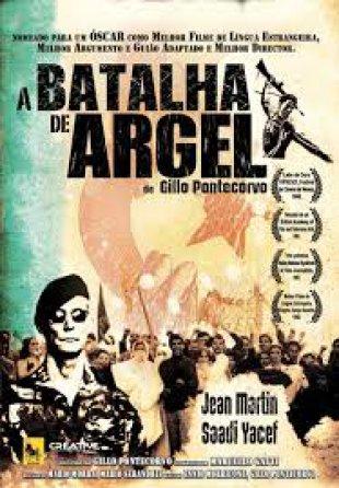 Capa do filme: A Batalha de Argel