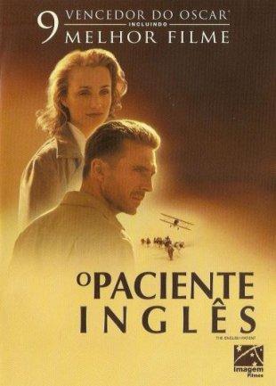 Capa do filme: O Paciente Inglês