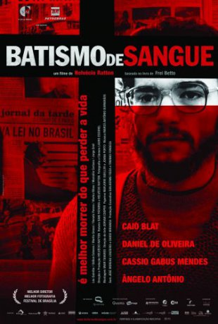 Capa do filme: Batismo de Sangue