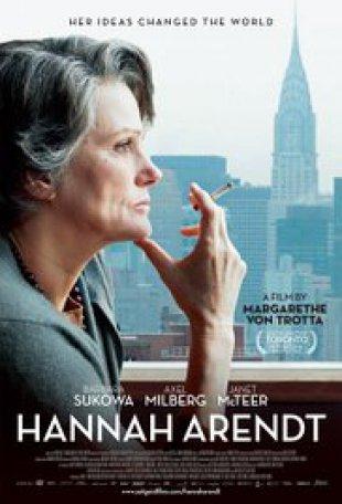 Capa do filme: Hannah Arendt - Ideias que chocaram o mundo