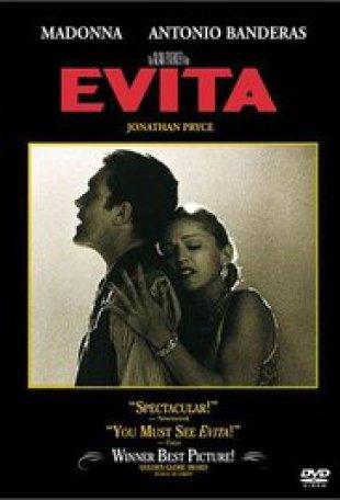 Capa do filme: Evita