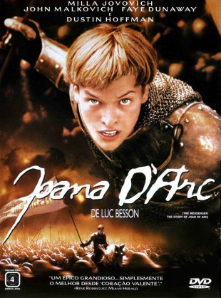 Capa do filme: Joana D'Arc
