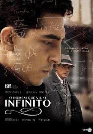Capa do filme: O Homem que viu o Infinito